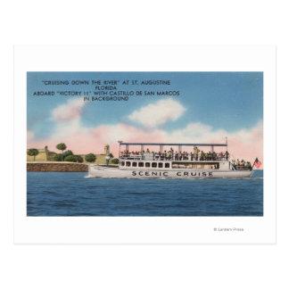 Postal St Augustine, la Florida - vista de la victoria