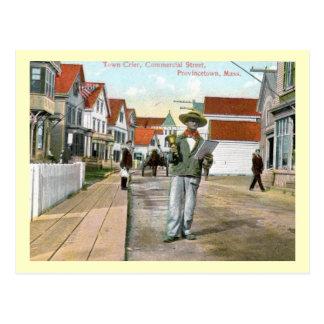 Postal St. comercial del pregonero, Provincetown, vintage