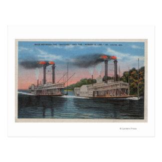 Postal St. Louis, MES - opinión Natchez y Roberto E. Lee
