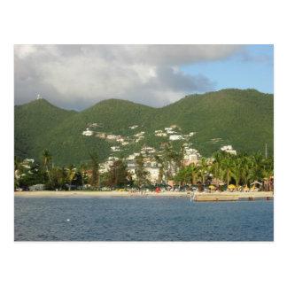 Postal St. Maarten de la bahía de Simpson