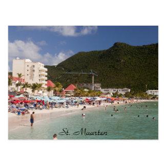 Postal St. Maarten, St. Maarten de la playa