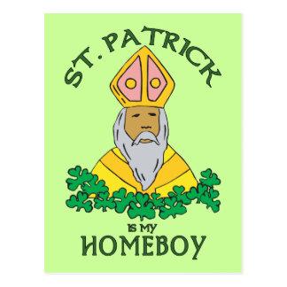 Postal St Patrick es mi Homeboy
