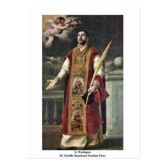 Postal St. Rodriguez de Murillo Bartolomé Esteban Pérez