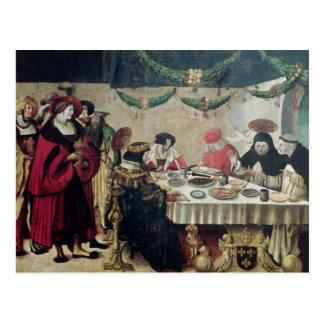 Postal St Thomas Aquinas y Louis IX