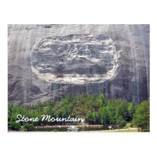 Postal Stone Mountain que talla Stone Mountain Georgia 2