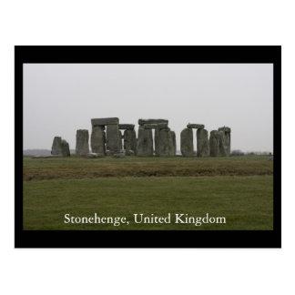 Postal Stonehenge, Reino Unido