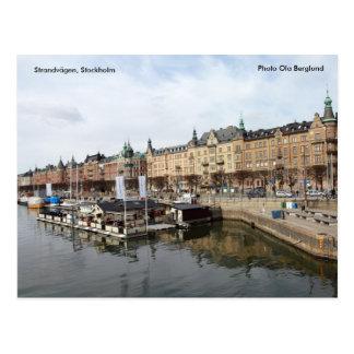 Postal Strandvägen, Estocolmo, foto Ol…