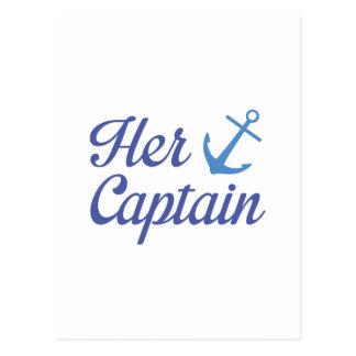 Postal Su capitán