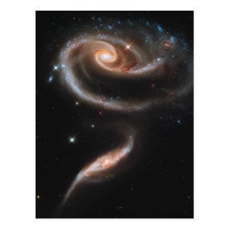 Postal Subió de galaxias