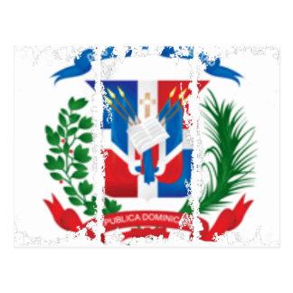 Postal sucia del escudo