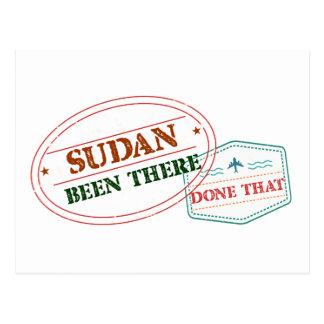 Postal Sudán allí hecho eso