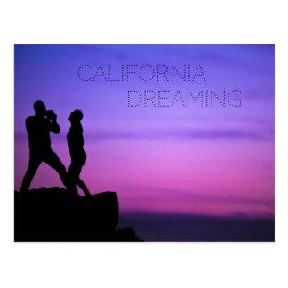 Postal Sueño de California