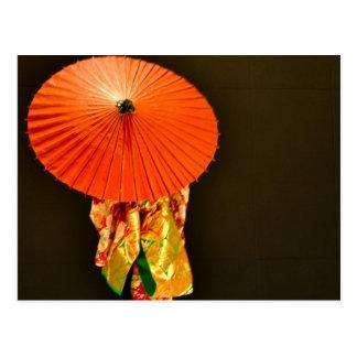 Postal Sueños 1 del kimono