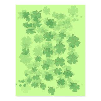 Postal Suerte del irlandés