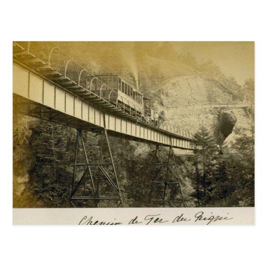 Postal Suiza 1908, Rigibahn, Vitznau