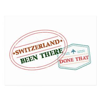 Postal Suiza allí hecho eso