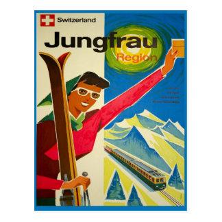 Postal Suiza, región de Jungfrau