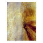 Postal Sumario J.M.W. Turner - lluvia, vapor y velocidad