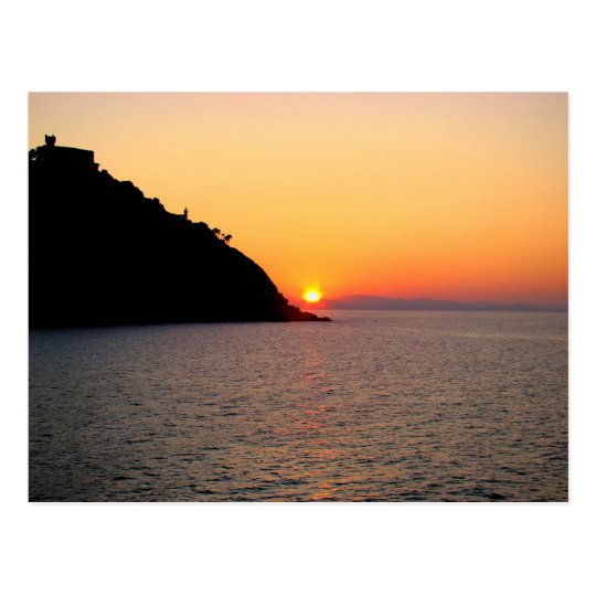 Postal Sunset in Donostia - San Sebastian