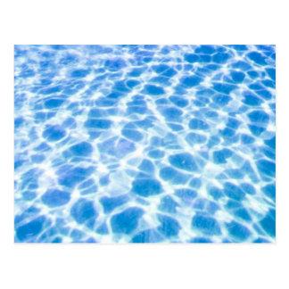 Postal Superficie de la piscina