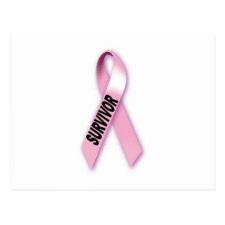 Postal Superviviente del cáncer de pecho