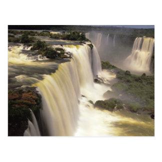 Postal Suramérica, el Brasil, caídas de Igwacu, Igwazu