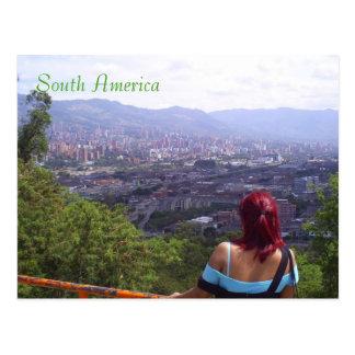 Postal Suramérica medellin Colombia