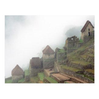 Postal Suramérica Perú Macchu Picchu