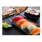 Postal Sushi y rollos