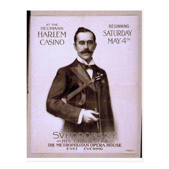 Postal Svedrofsky y su teatro retro de la orquesta