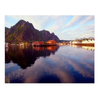 Postal Svolvaer, islas de Lofoten