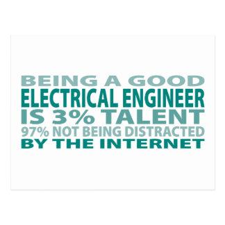 Postal Talento del ingeniero eléctrico el 3%