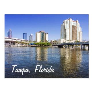 Postal Tampa de la isla del puerto
