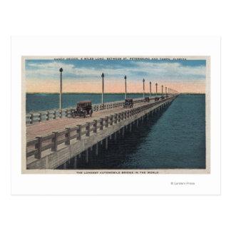 Postal Tampa, FloridaView de Gandy BridgeTampa, FL