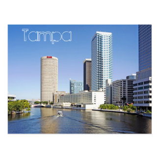 Postal Tampa hermosa, la Florida