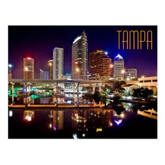 Postal Tampa, la Florida del puente de la calle de Platt