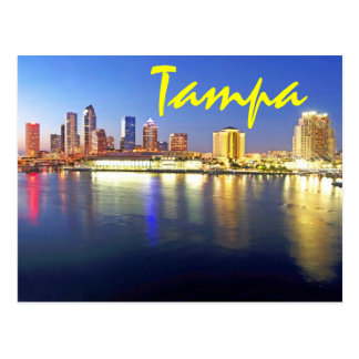 Postal Tampa, la Florida, los E.E.U.U.