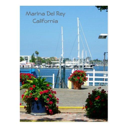 ¡Postal tan hermosa de Marina Del Rey!