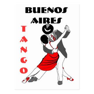 Postal Tango de Buenos Aires