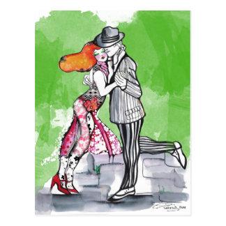 Postal Tango meridional de las brisas