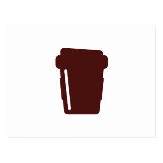 Postal Taza de café a ir