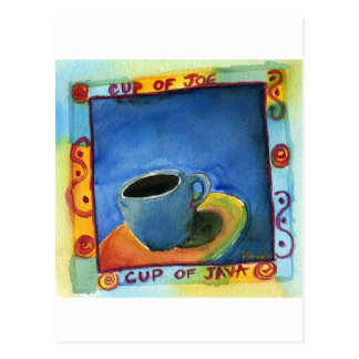 Postal Taza de taza de Java de Joe