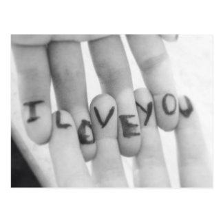 Postal Te amo