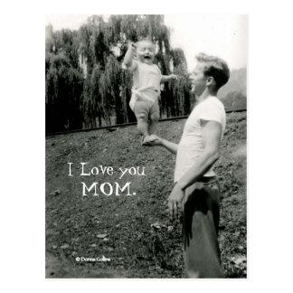 Postal Te amo mamá