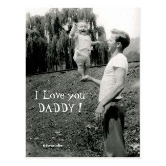 Postal Te amo papá