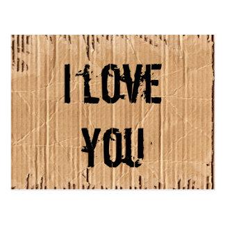 Postal te quiero