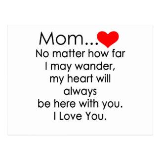 Postal te quiero mamá
