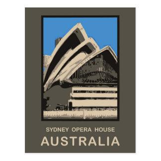 Postal Teatro de la ópera de Australia Sydney