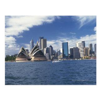 Postal Teatro de la ópera de Sydney, Australia