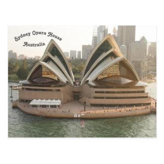 Postal Teatro de la ópera de Sydney, Nuevo Gales del Sur,